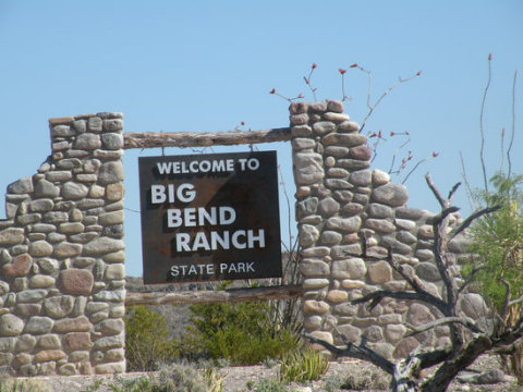 Big Bend Attractions: Big Bend Ranch State Park Motel