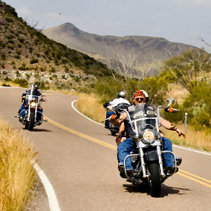 Biker-Friendly Big Bend Motel Motorcycles Welcome!