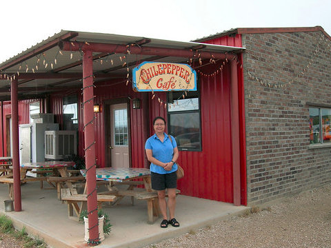 Big Bend Restaurants: Chile Pepper Cafe Motel