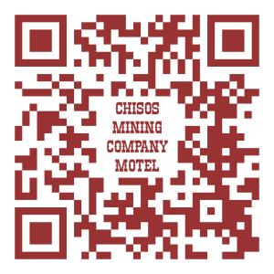 Chisos Mining Co. Motel QR Code