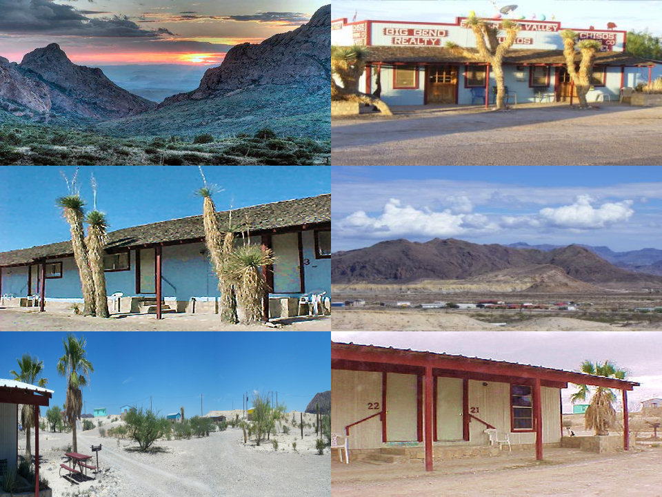 Motel Rooms, Terlingua/Study Butte/Lajitas Texas