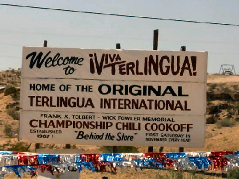 Big Bend Attractions: Original Terlingua International Championship Chili Cook-Off Motel
