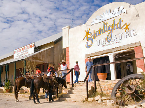 Big Bend Restaurants: Starlight Theatre/Restaurant/Bar Motel