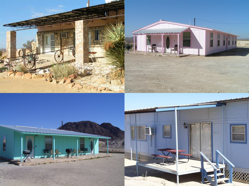 Rejuvenate in our rentals chisos mining co motel for Big bend texas cabin rentals